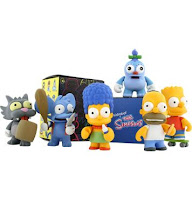 Kidrobot x The Simpsons Designer Vinyl Mini Figure Set