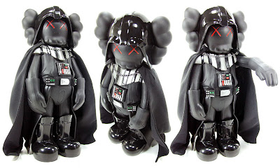 Kaws x Star Wars Darth Vader Vinyl Figure