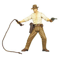 Indiana Jones Action Figure - Indiana Jones with Whip Cracking Action
