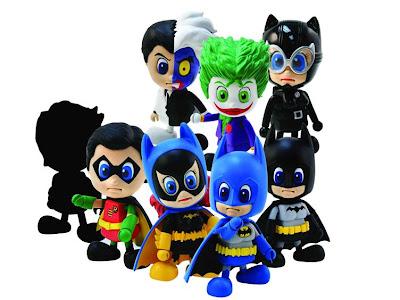 Batman Cosbaby 8 Figure PVC Set by Hot Toys