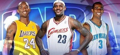 The Stars of the NBA - Kobe Bryant, LeBron James & Chris Paul