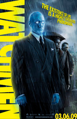 Watchmen Character Movie Posters - Billy Crudup as Dr. Manhattan