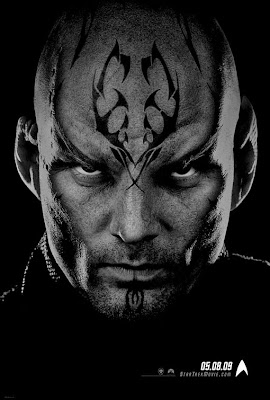 Star Trek Black and White Character Movie Posters - Eric Bana as Nero