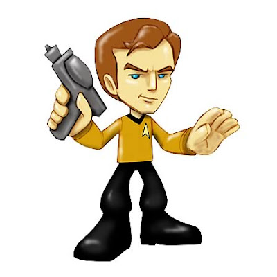 Classic Star Trek Vinyl Figures Wave 1 - Captain Kirk