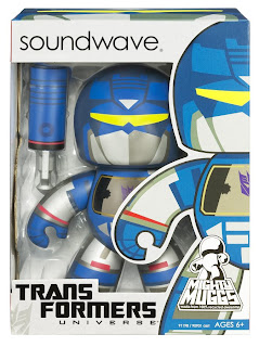 Transformers Mighty Muggs Wave 1 - Soundwave Mighty Mugg in Package