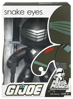 G.I. Joe Mighty Muggs Wave 1 - Snake Eyes Mighty Mugg in Package