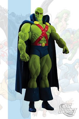 DC Direct Justice League International Series 2 - Martian Manhunter Action Figure