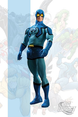DC Direct Justice League International Series 2 - Blue Beetle Action Figure