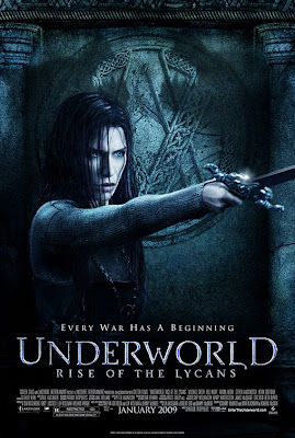 Underworld: Rise of the Lycans Character Movie Poster - Rhona Mitra as Sonja