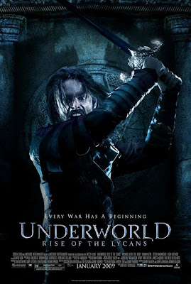 Underworld: Rise of the Lycans Character Movie Poster - Michael Sheen as Lucian