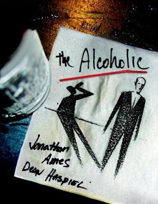 The Alcoholic by Jonathan Ames and Dean Haspiel Cover Artwork