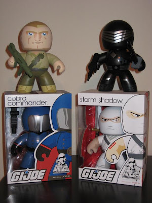 The Blot's Collection of G.I. Joe Mighty Muggs Wave 1 - Duke, Snake Eyes, Cobra Commander & Storm Shadow