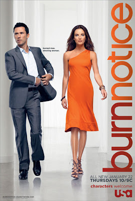 Burn Notice Season 2, Part II Television Poster