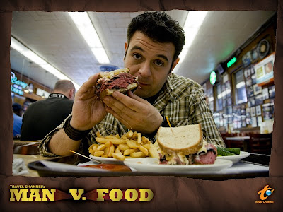Travel Channel's Man v. Food hosted by Adam Richman