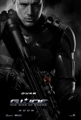 G.I. Joe: Rise of Cobra Character Movie Posters Set 1 - Channing Tatum as Duke