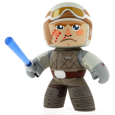 Star Wars Mighty Muggs Internet Exclusive Wave - Luke Skywalker in Hoth Gear