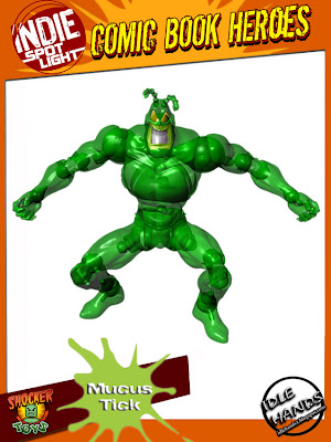Idle Hands Exclusive The Mucus Tick Action Figure by Shocker Toys