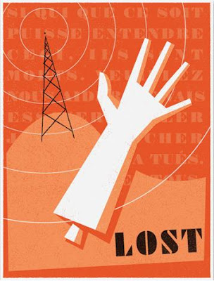 LOST Screen Print Series 3 - Montand's Arm by Ty Mattson