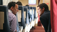 Lost - 316 - Michael Emerson as Ben Linus and Matthew Fox as Jack Shephard