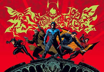 DC Comics - Batman: Battle for the Cowl Teaser Image 2 - Catwoman, Hush, Nightwing, Jason Todd & Robin