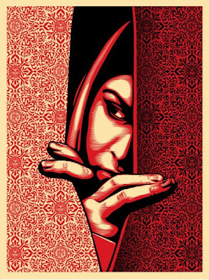 OBEY Giant - Israel/Palestine Screen Print by Shepard Fairey