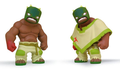Muttpop - Tequila 2.0 Vinyl Figure With and Without Poncho