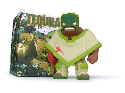 Muttpop - Tequila 2.0 Vinyl Figure and Packaging