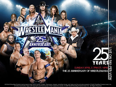 WrestleMania XXV - 25 Years of WrestleMania