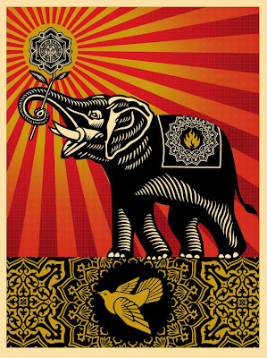 OBEY Giant - Obey Elephant by Shepard Fairey