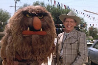 Jim Henson's The Muppets - Sweetums and Milton Berle in The Muppet Movie