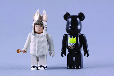 Where The Wild Things Are 100% Kubrick and Bearbrick Figure Set by Medicom