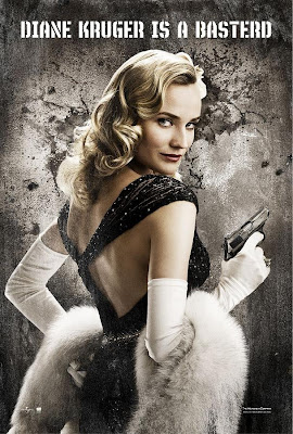 Inglourious Basterds Character Movie Posters - Diane Kruger as Bridget von Hammersmark