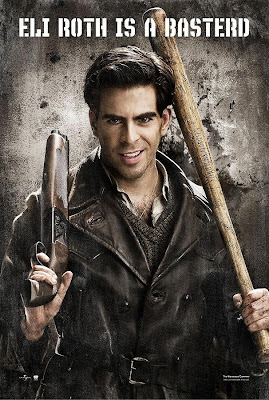 Inglourious Basterds Character Movie Posters - Eli Roth as Sgt. Donnie Donowitz