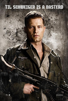 Inglourious Basterds Character Movie Posters - Til Schweiger as Sgt. Hugo Stiglitz