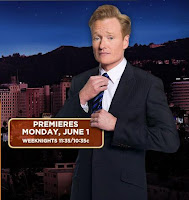 The Tonight Show with Conan O'Brien Premieres Monday, June 1, 2009