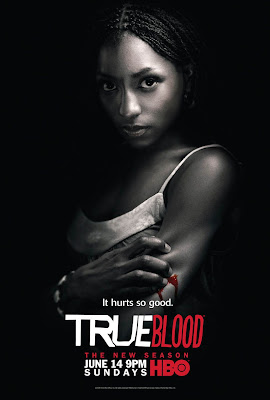 True Blood Season 2 Character Television Posters - Rutina Wesley as Tara Thornton