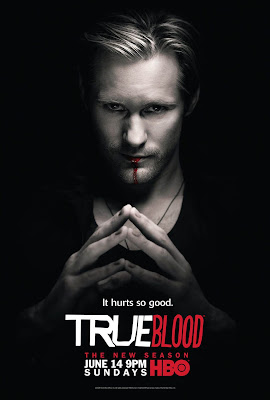 True Blood Season 2 Character Television Posters - Alexander Skarsgard as Eric Northman