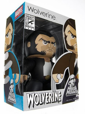 X-Men Origins: Wolverine - Logan with Retractable Claws San Diego Comic Con 2009 Exclusive Mighty Mugg