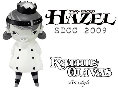 MINDstyle - San Diego Comic Con 2009 Exclusive 9 Inch Two-Faced Hazel Mono Colorway by Kathie Olivas