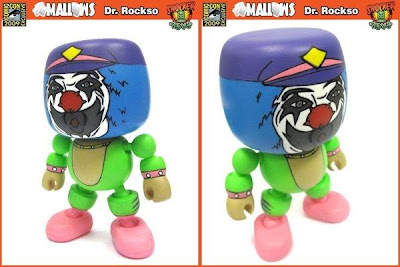 Shocker Toys - San Diego Comic Con 2009 Exclusive Dr. Rockso Mallow Vinyl Figure