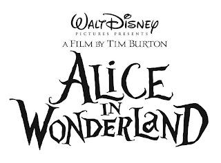 Disney - Tim Burton's Alice In Wonderland Logo