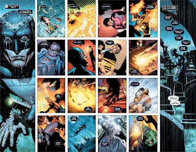 Green Lantern Issue #43 Interior Artwork - The Rise of the Black Lanterns