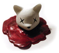 Luke Chueh x Munky King Decapitated Bear Head Vinyl Figure