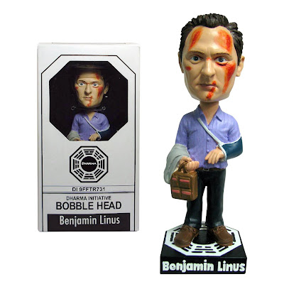 San Diego Comic Con 2009 Exclusive Benjamin Linus Lost Bobble Head by Bif Bang Pow!