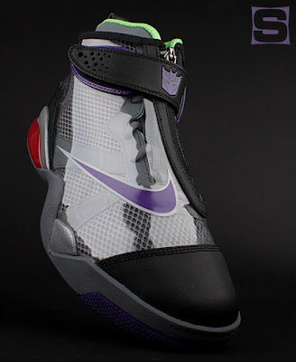 The Nike x Transformers Sneaker Set - The Megatron Zoom Flight Club Sneaker