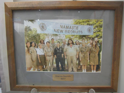 Lost: The Auction - Dharma Recruits 1977 Framed Picture