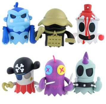 Kidrobot - BoOoya Ghosts Mini Series Vinyl Figures by MAD 2