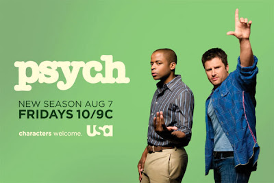 Psych Season 4 Television Poster