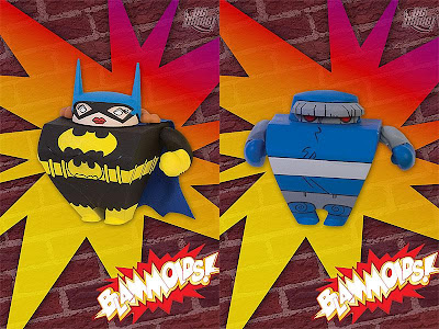 Blammoids! Series 2 by DC Direct - Batgirl and Darkseid Vinyl Figures