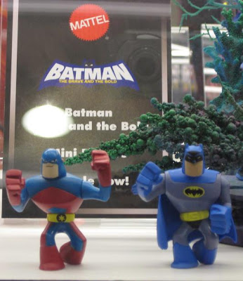 Batman: The Brave and the Bold Action League - The Atom and Batman Action Figures
